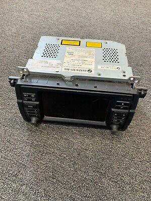 2002-06 BMW E46 3 Series M3 Wide-Screen OEM Command Head Unit Navigation Radio