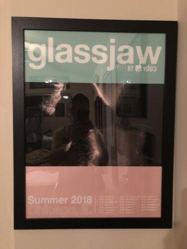 RARE Glassjaw Chicago Concert Poster - Summer 2020 - EYEW2KAS - $20.00