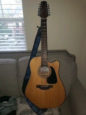 Solid Top 12 String Dreadnought (Takamine GD30CE-12NAT Solid Top Dreadnought 12-String Acoustic Electric)