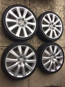 Genuine Mazda CX9 20 Inch In 5x114.3 Wheels And Tyres Epping Whittlesea Area Preview