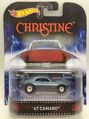 HOT WHEELS 2014 RETRO ENTERTAINMENT FROM THE MOVIE CHRISTINE '67 CAMARO