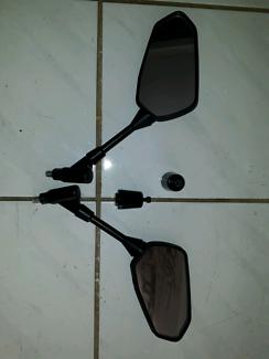 Yamaha mirrors