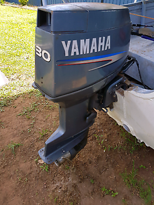 4.3m tinny with a 30hp Yamaha 2stroke outboard Trunding Cook Area Preview