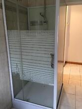 shower screen, base and shower head West Footscray Maribyrnong Area Preview