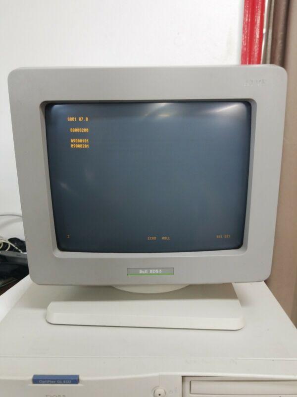 "Bull BDS 5 12"" AMBER BDS5 Terminal - Light Screen Burn - 60159383-101"