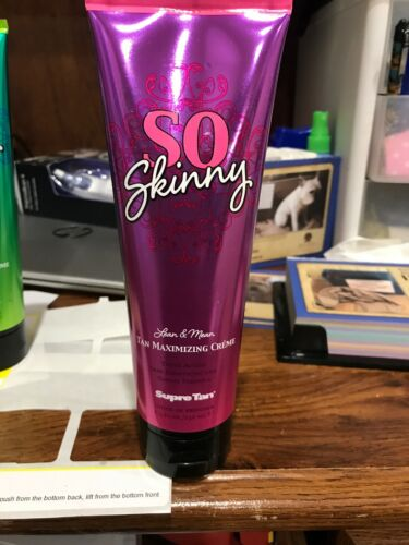 Supre Tan SO SKINNY MAXIMIZER Indoor Tan Tanning Bed Lotion