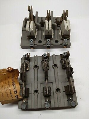 Lot Of 2 Steampunk Knife Switch Assembly Pre-owned