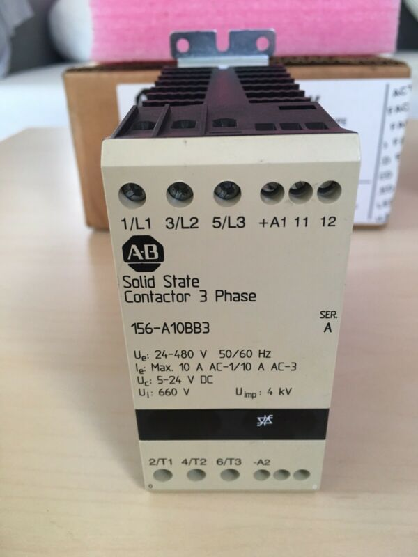 Allen Bradley 156-A10BB3 Solid State Contactor 3 Phase