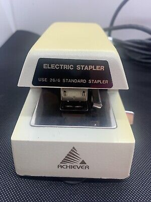Tested Works Great Vintage Commercial Office Electric Stapler Achiever As-804