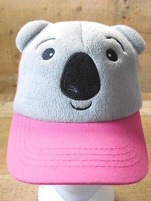 PANDA Bear Ears Strapback Adjustable Childrens Hat - Panda Bear Hat