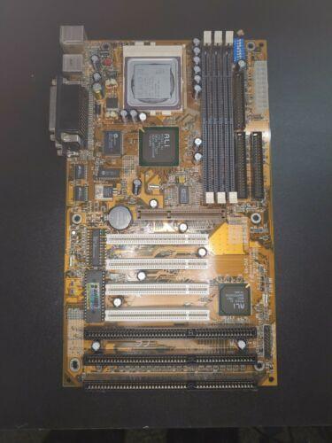 GIGABYTE GA-5AX SOCKET 7 MOTHERBOARD W/ AMD K6-2/350 CPU - AGP/ISA/PCI SLOTS