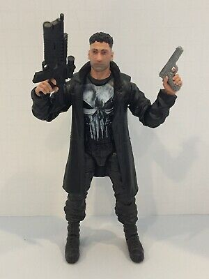 "Marvel Legends 6"" Inch Man-Thing BAF Netflix Wave Punisher Complete EUC"