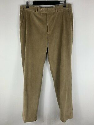 HILTL Sports Luxury Comfort Brown velvet Pants Trousers size 25