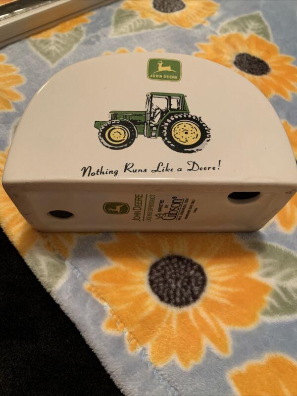 John Deere Silo Authentic Licensed Product Napkin Holder