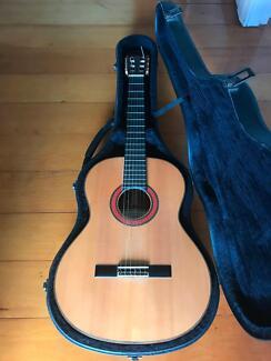 Alhambra 10FP nylon string acoustic guitar (classical/flamenco)