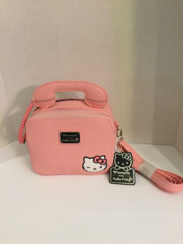 NWT Loungefly Hello Kitty Pink Crossbody Bag $168.00 + Free Shipping