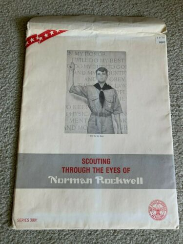 Scouting Through The Eyes of Nor OF Norman Rockwell 10 Artist Prints Series 3001