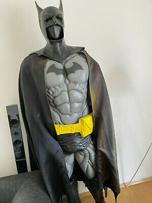 Batman Kostüm Batsuit Cosplay Herren The Dark Knight grau (1997-1999)