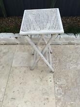 Rattan Wood and Cane Shabby Chic French side table Marrickville Marrickville Area Preview