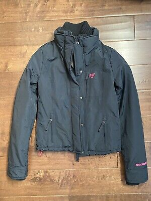 New Abercrombie & Fitch Women's All Season Weather Warrior Coat Jacket, Blue, XS