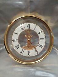 Antique Verichron Skeleton Quartz Wall Clock