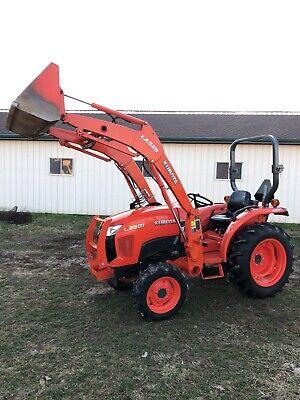 2015 Kubota L3301 Tractor Loader 4wd Diesel Hst Pto
