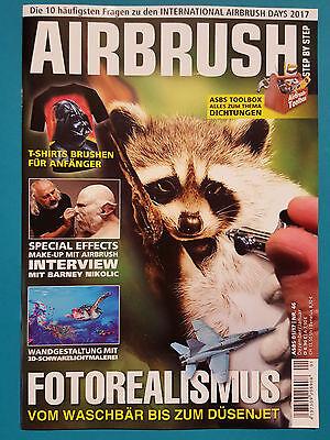 Airbrush Dez./Jan. 2017 Nr.46  ungelesen 1A absolut TOP