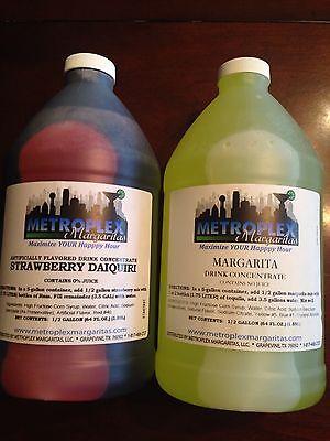 Mixed Case - Margarita Slush Granita Mix Frozen Drink Concentrates