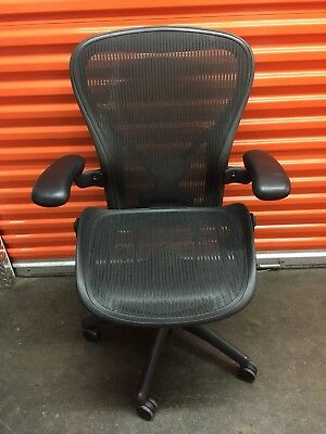 Herman Miller Aeron Mesh Office Desk Chair Large Size C Local Pickup
