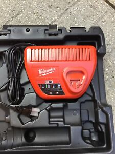 Milwaukee M12 charger and box