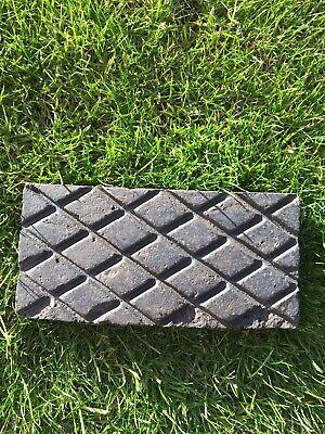 100 Victorian Staffordshire Blue Stable platform garden tiles Blocks Lancashire