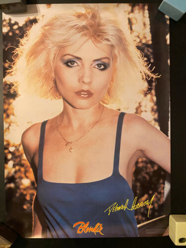 Blondie Debbie Harry rolled poster blue dress Eat to the Beat era 1979 Pro-Arts