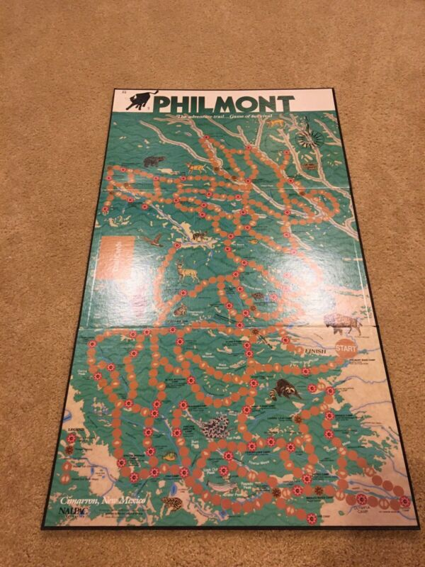Philmont Scout Ranch Survival Board Game 1987 Nalpac Boy Scouts of America
