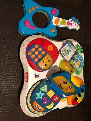 Fisher-Price Laugh and Learn Fun With Friends Musical Activity Center
