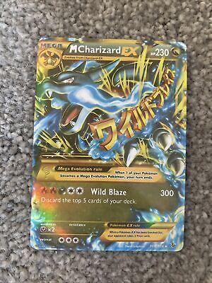 Mega Charizard Ex (Blue Fire Edition) 108/106 XY Flashfire MINT Secret Rare