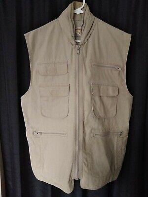 53f4fb9294d4f Mens Banana Republic Safari Hooded Vest Large