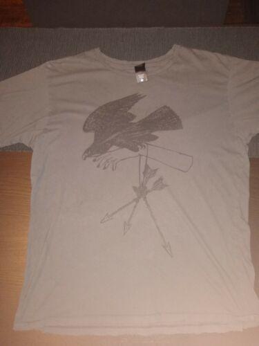 Heather Hannoura Gabel Art Print T-Shirt LARGE - Alkaline Trio