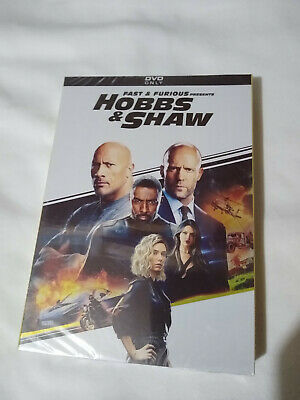 Fast And Furious Presents Hobbs & Shaw DVD Jason Statham New and Region 1 US