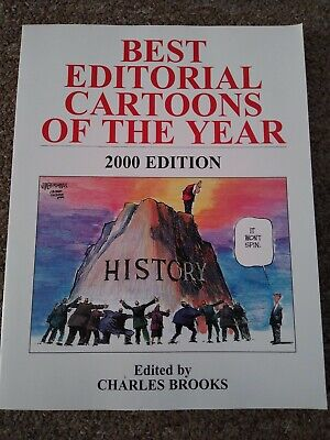 Best Editorial Cartoons of the Year 2000 by Brooks, Charles Softcover