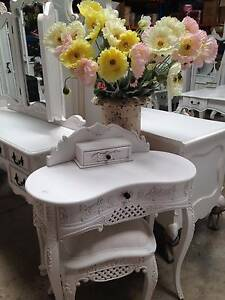 FRENCH INSPIRED ANTIQUE WHITE FURNITURE HAMPTONS PROVINCIAL NEW Malaga Swan Area Preview