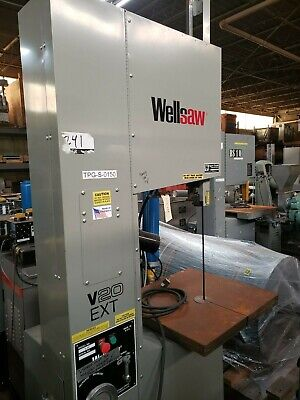 Wellsaw Model V-20 Ext Vertical Bandsaw