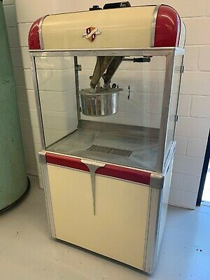 Manley 1948 Popcorn Machine - Antique Movie Theater Burch Star Cretors