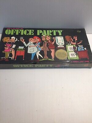 Vintage 1969 Office Party Board Game From Candle Light Games](Office Party Games)