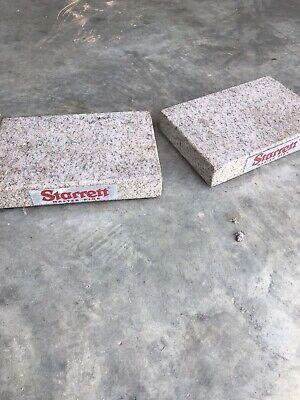 Starrett 12 X 8 X 2 Pink Granite Surface Plates