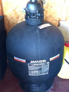 Jacuzzi Laser 250 sand filter with dial valve