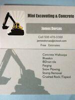 Drain Tile, Waterproofing, Parging