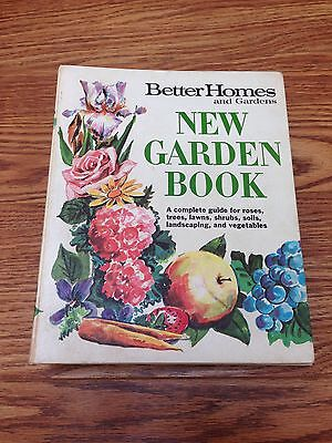 Vintage Better Homes and Gardens New Garden Book 1968 HC Landscaping Lawn Care