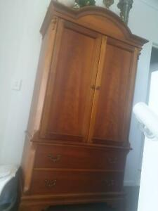 Solid Timber Armoire Made In America Bundall Gold Coast City Preview