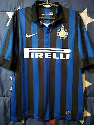 INTER MILAN INTERNAZIONALE ITALY 2011-2012 HOME FOOTBALL SHIRT JERSEY CALCIO 7819d14e8f6