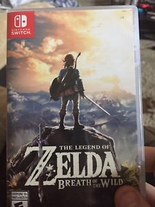 Legend of Zelda Breath of the Wild barely used